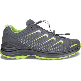 Lowa Maddox GTX Shoes Children grey/green